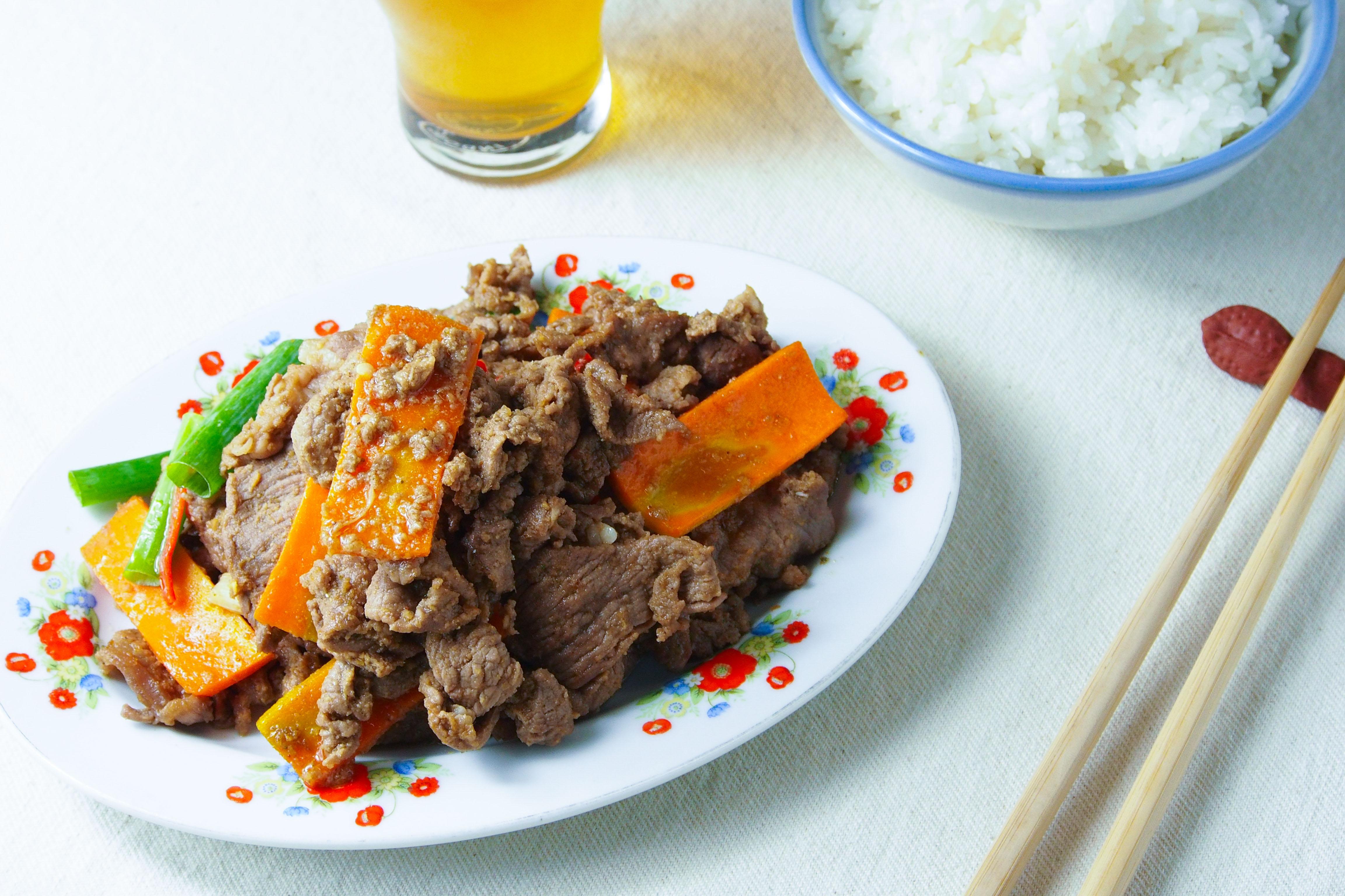 沙嗲炒牛肉